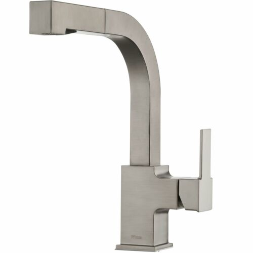 Pfister LG534-LPMS Arkitek Kitchen Faucet with Pull-out Sprayhead Stainless s...