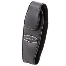 Leatherman (930905) Juice Black Leather Clip-on Multi-Tool Sheath Snap Closure