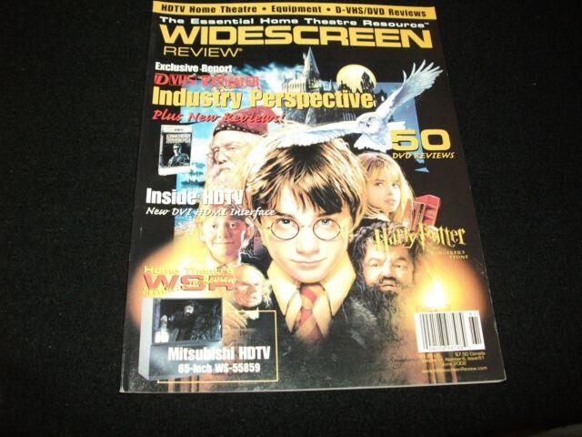 WIDESCREEN MAGAZINE<>VOLUME 11,ISSUE 61 / JUNE  2002<> HARRT PUTTER