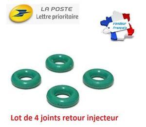 4-Joint-torique-retour-injecteur-fuite-off-Gasoil-Bosch-1-4-1-6-HDI-1-5-1-9-DCI