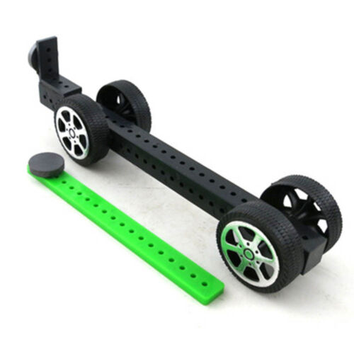 DIY Physical Magnetic Car Toy Experiment  Physics Science Assembled Toy For Kids