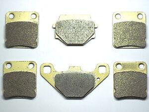 Front-Rear-Brake-Pads-Fit-Suzuki-LT-F-LTF-500-Vinson-Quadrunner-2003-2004-2005