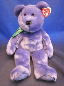 TY Beanie Buddies Employee Bear 2000 Teddy Bear ~ NEW with TAG