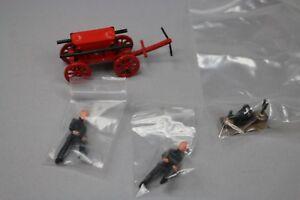 Zc1264 Ff Models Figurines Résine Miniature 1/43 Pompiers