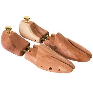 Hochwertige-1-Paar-Schuhspanner-Zedernholz-Schudehner-Schuhweiter-Gr-44-45