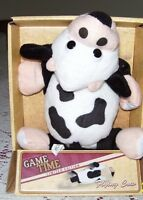 Game Time Flying Cow Slingshot Dog Cat People Toy Read Below