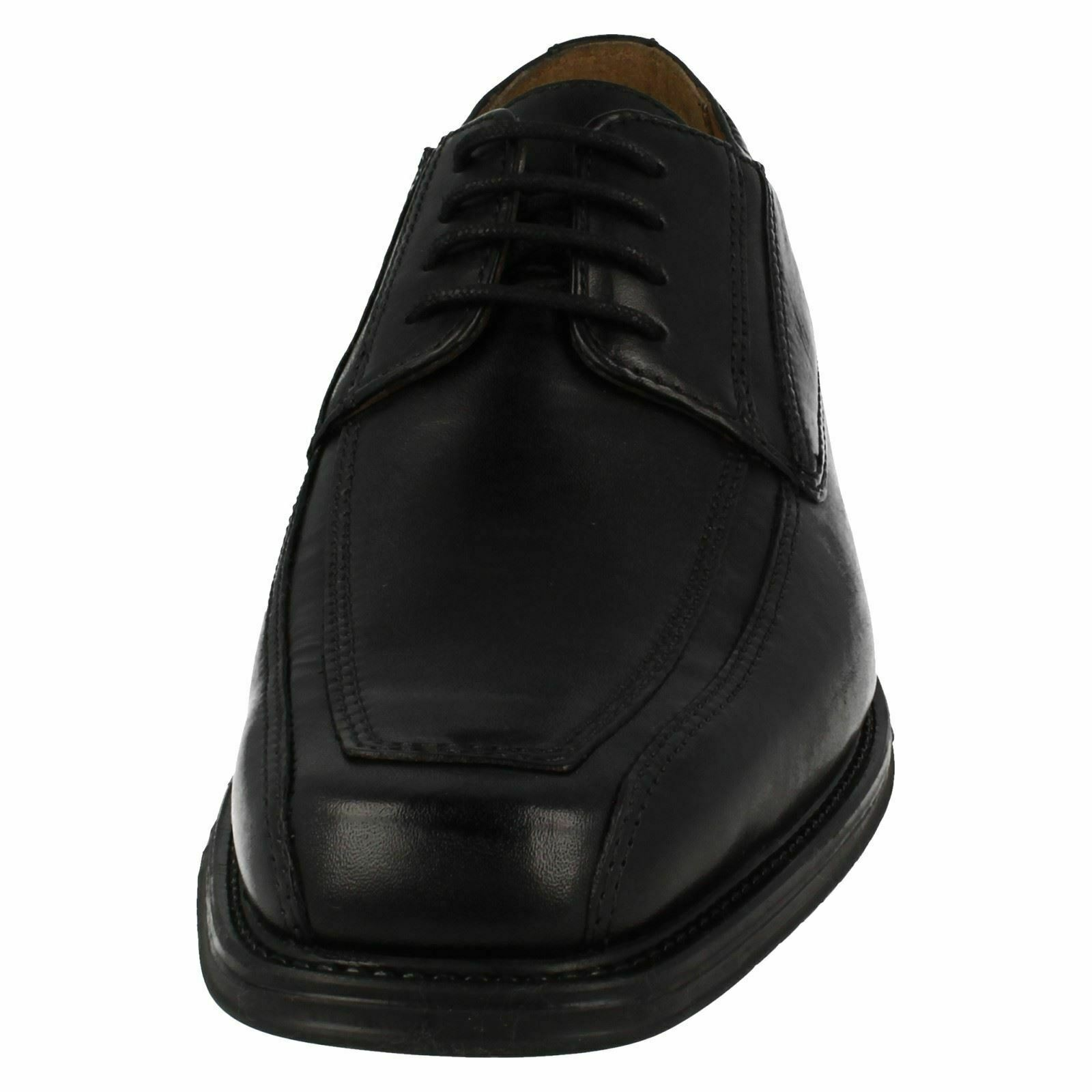 DRIGGS DRIGGS DRIGGS WALK MENS CLARKS schwarz LEATHER LACE UP SMART FORMAL OFFICE WORK schuhe f56117