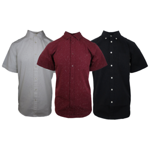Obey-Men-039-s-Static-Dots-S-S-Woven-Shirt-Retail-80
