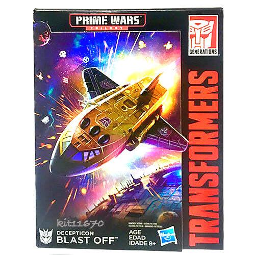 IN-HAND Transformers Generations Prime Wars Trilogy Blast Off & Megatronus FAST