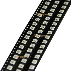 200PC-WS2812B-LED-Chip-Built-in-5050-RGB-LED-SMD-Light-Individual-Addressable