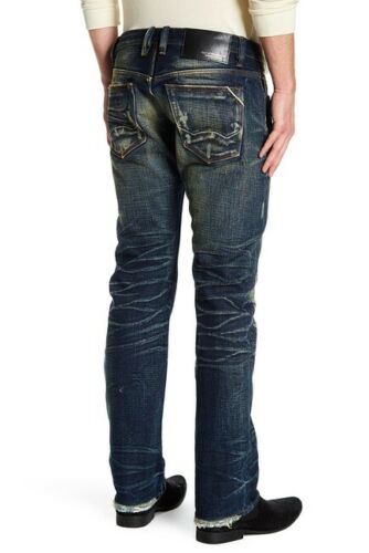 Cult Of Individuality Rebel Straight Leg Jean # 66B10-R32O Size 32 ~ 38