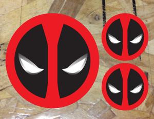 "Deadpool Vinyl Decal Sticker Car Truck Laptop Skateboard Dead Pool 3.5/"" 3 for 1"
