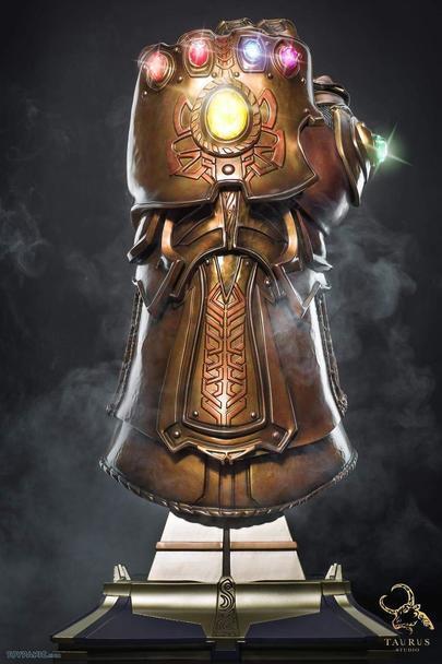 NEW - Taurus Studio - Marvel Avengers - Infinity War Infinity Gauntlet 1 1 Scale