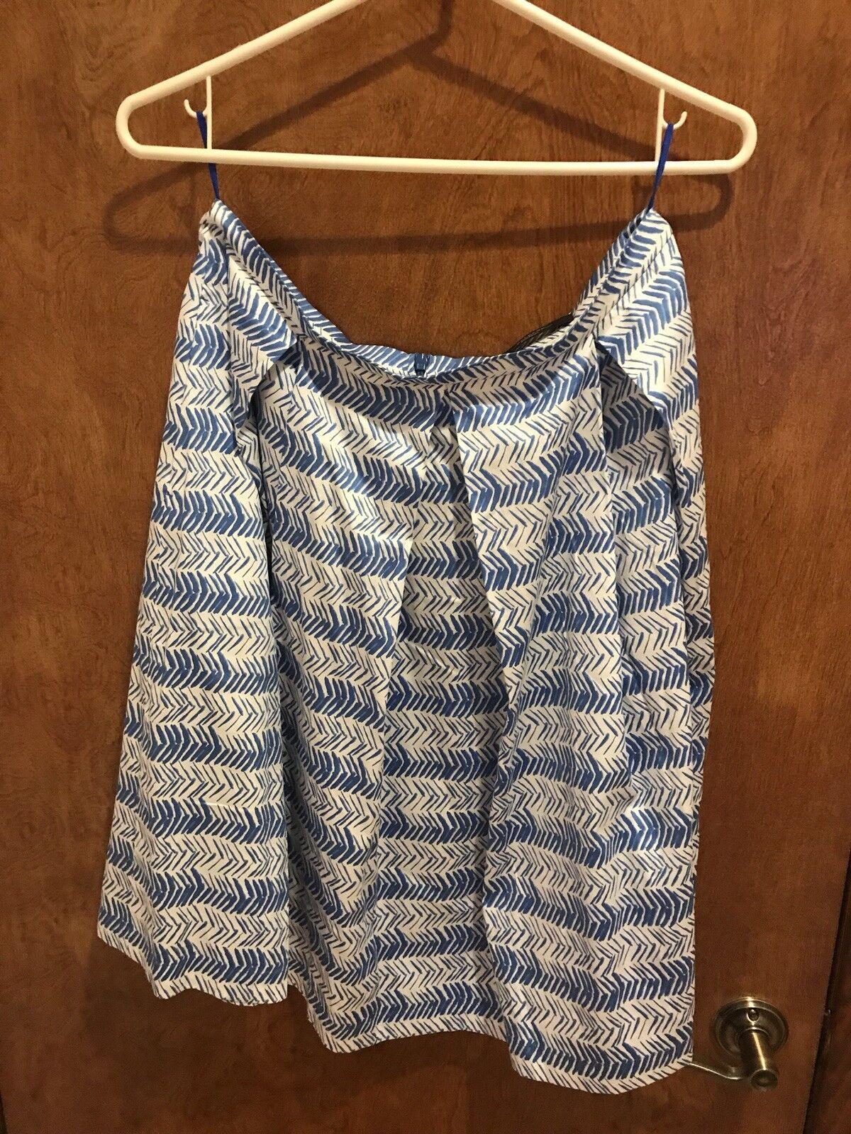 Max Mara Weekend Skirt, bluee Geometrical, 10