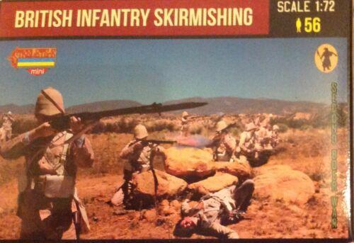 Soldatini 1//72 BRITISH INFANTRY SKIRMISHING STRELETS M133