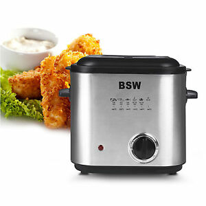 New Bsw Bs 15084 Df Electric Mini Deep Fryer 220v 840w Low