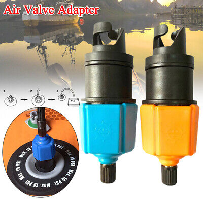 SUP Pump Adapter Air Valve Adapter Inflatable Air Valve Adaptor for Paddle Board