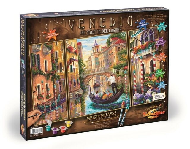 Schipper 609260736 - Painting by Numbers - Venice - Die Stadt in the Lagune -