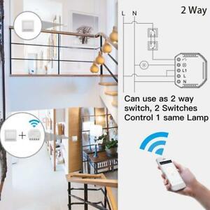 WiFi-Smart-Switch-Light-Switch-DIY-Breaker-Module-Voice-APP-Remote-Control