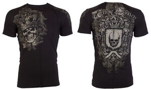 Xtreme-Couture-AFFLICTION-Mens-T-Shirt-ORDAINED-Skull-Tattoo-Biker-UFC-S-4XL-40