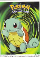 Pokémon Gotta catch'em all n° 07 - SQUIRTLE - SCHIGGY - CARAPUCE (A1067)
