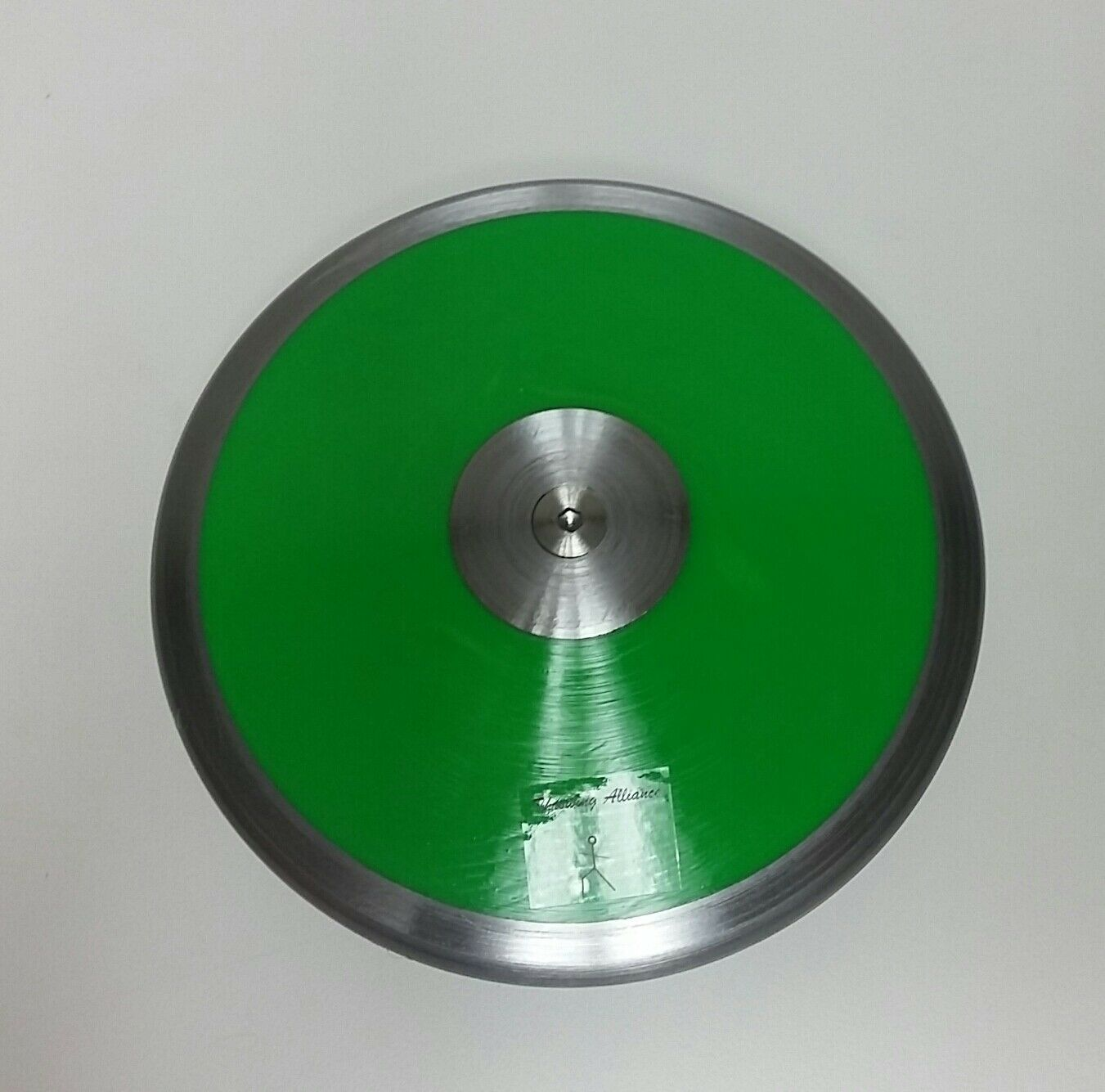 Competition 70% Rim Weight 1 kg Discus Green --High Spin. High Quality