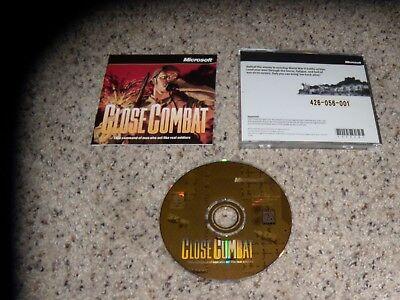Beautiful Close Combat pc,1996 Mint Game Customers First
