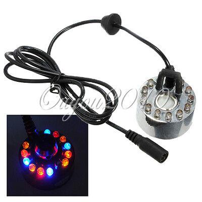 Sonde Brumisateur Diffuseur Fogger Fontaine Multicolore Brume Ultra-Son 12 LED
