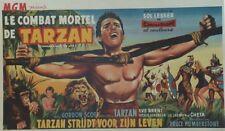 """LE COMBAT MORTEL DE TARZAN (TARZAN'S FIGHT FOR LIFE)""Affiche ent. Gordon SCOTT"