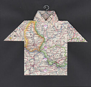 Origami-Map-Shirt-Luxembourg-Esch-Thionville-France-Germany-Saarbrucken