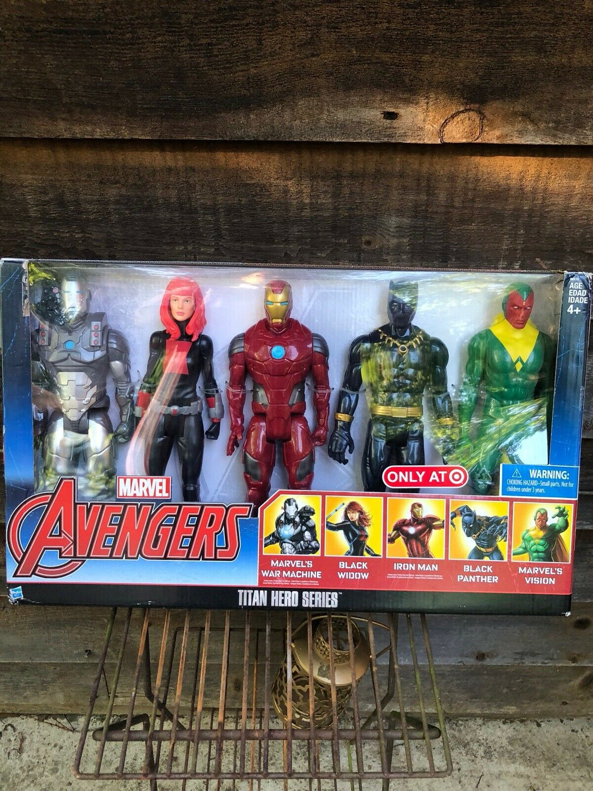Avengers 5 Figurine Titan Hero Series Set Sold Only At Target