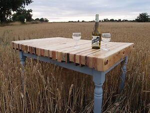 Image Is Loading Reclaimed Pallet Wood Dining Table Furniture Made To