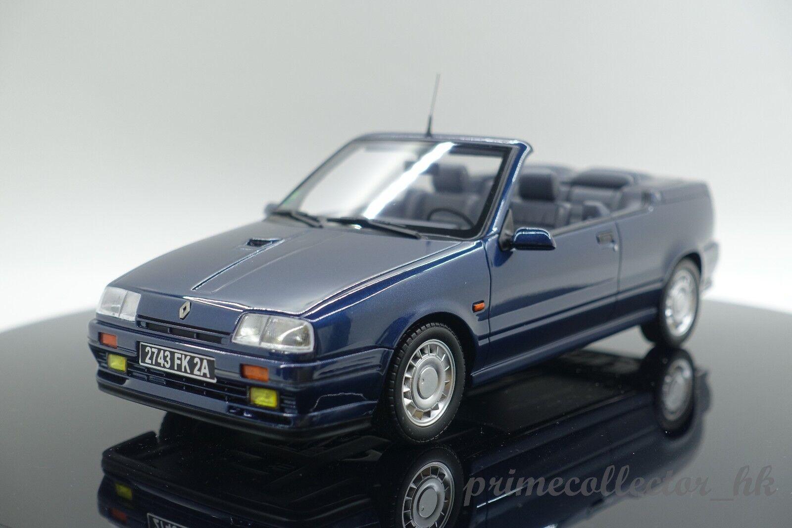OTTO MOBILE RENAULT 19 16 S Cabriolet Bleu Sport 1 18 OT673