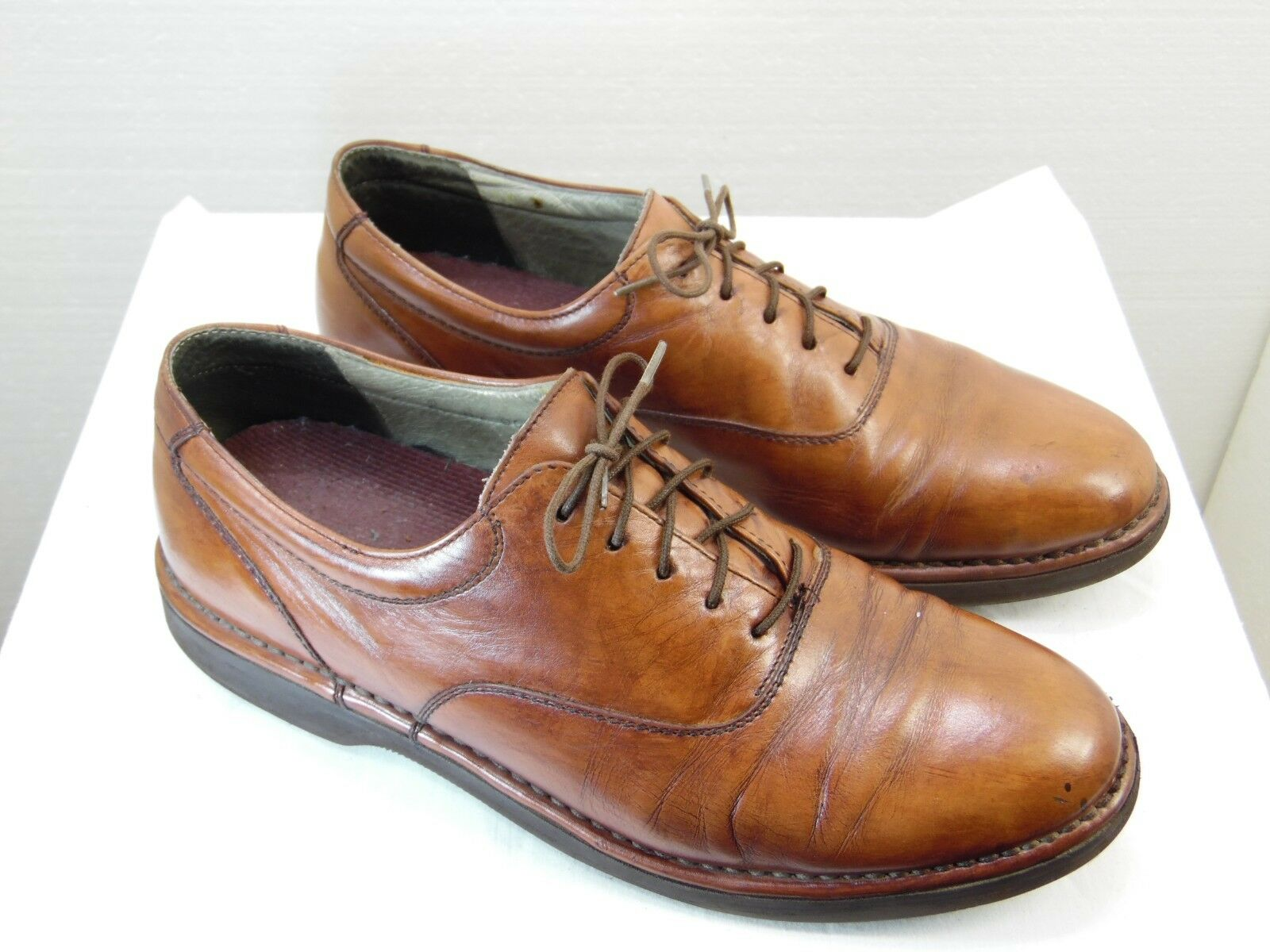 RockPort Dress Sports Mens Dress Shoes Size 8 Leather  Upper Brown    Leather   YR3 1438d6