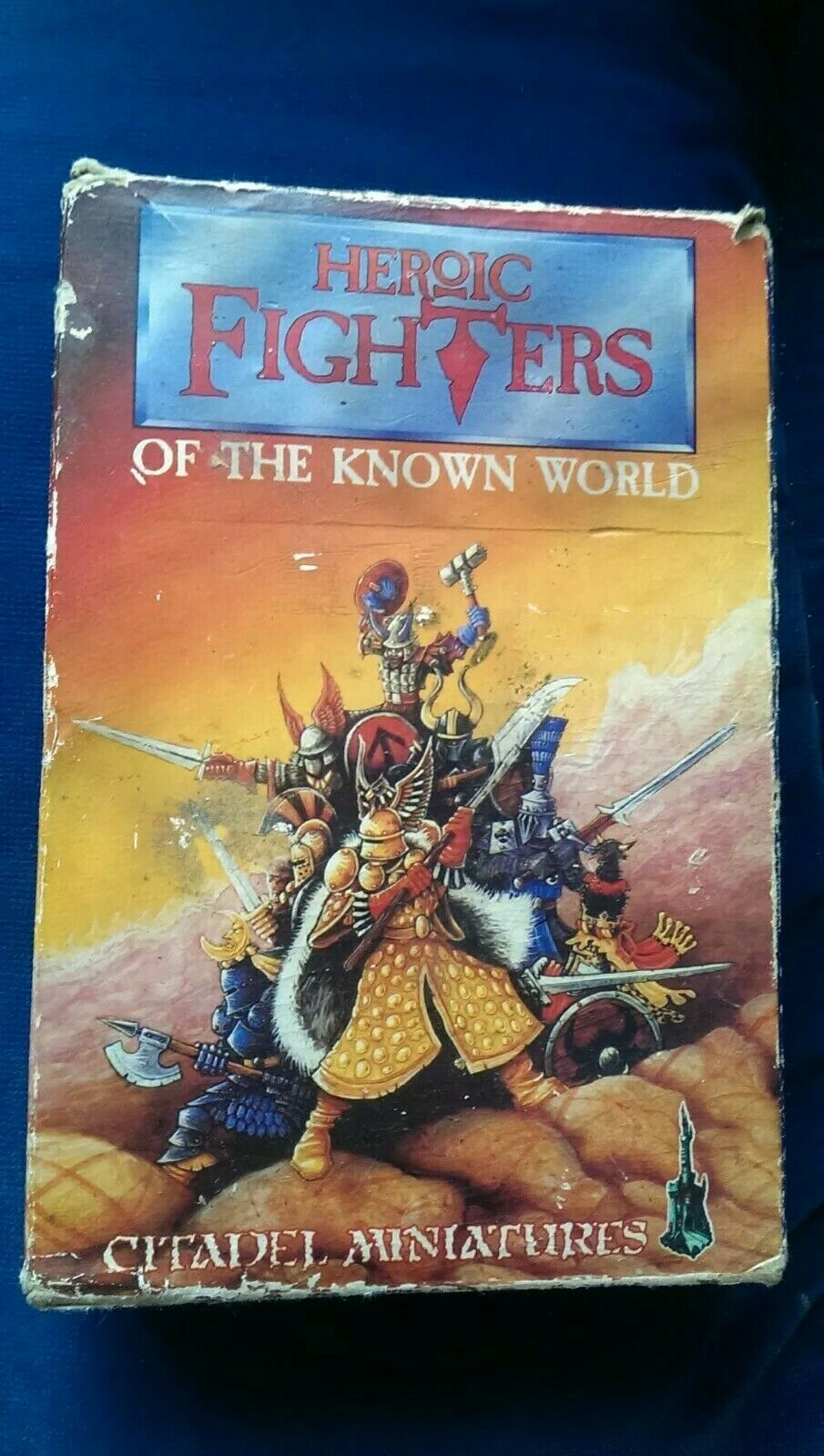 Citadel GW Warhammer BC7 BC7 - Heroic Fighters of the Known World - Complete Box Set