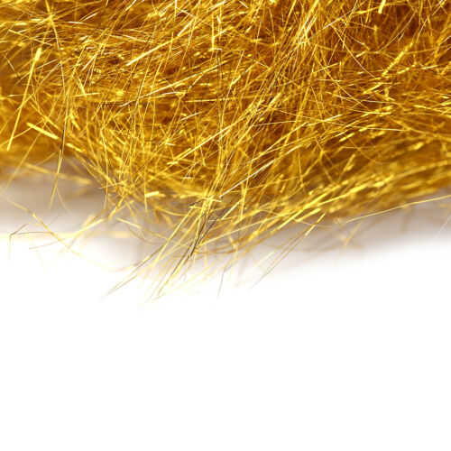 Golden color Flyart Pearl Ice Dub Fly tying material//Ultra Ice Dubbin CYCA