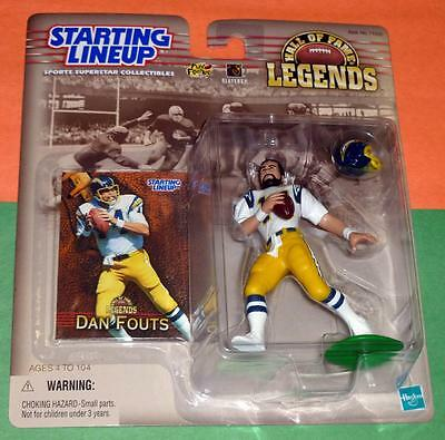 Starting Lineup NFL Dan Fouts San Diego Chargers Hall Of Fame Legends Exclusive