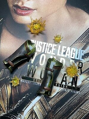 Hot toys MMS451 Wonder Woman Masterpiece Figure 1//6 Bracelets of Submission