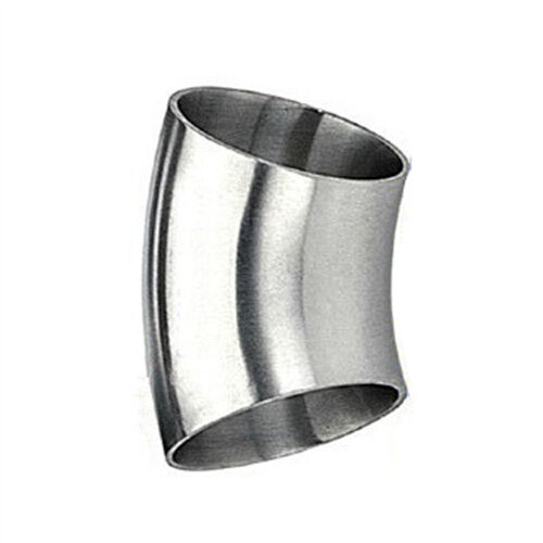 5x OD38mm 1-1//2/'/'Sanitary Weld Elbow Pipe Fitting 45 Degree Stainless Steel 304