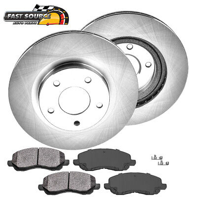 Front Rotors Metallic Pads For OUTLANDER COMPASS PATRIOT AVENGER LANCER SEBRING