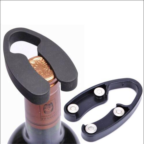 Black Stylish 4-Wheel Wine Bottle Handheld Foil Cutter Rotating Cutting Bla bk