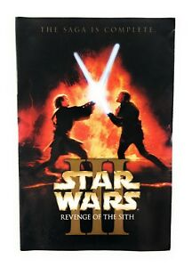 Star-Wars-Movie-Cd-Episode-III-Revenge-of-the-Sith-DVD-2005-2-Disc-Set-Canadian