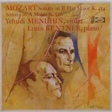 MOZART: Sonata CAPITOL ORIG Menuhin Kentner VIOLIN piano G-7123 NM- LP