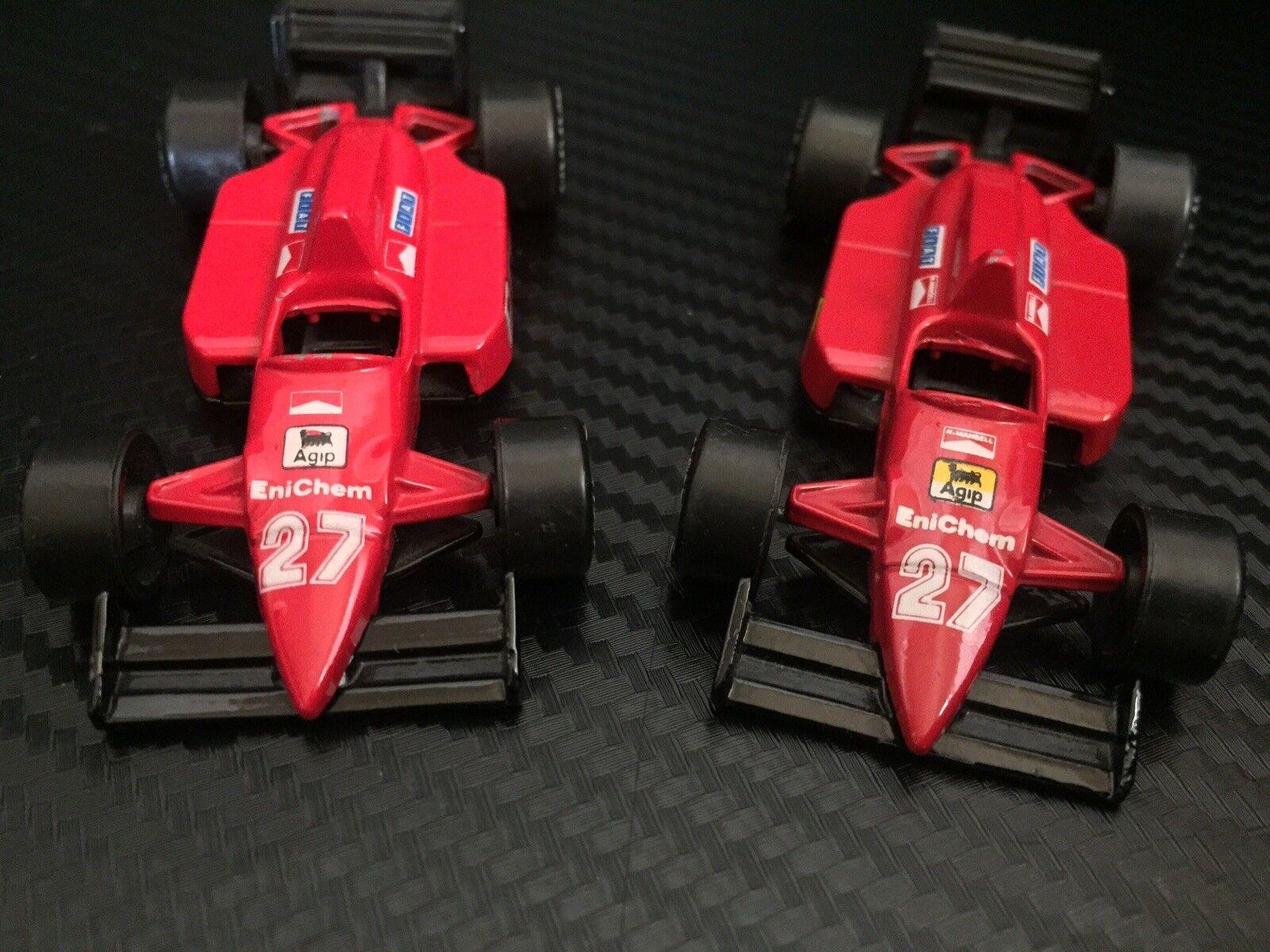FERRARI F1 N Mansell 1 55 Lot Of Of Of 2 VERY RARE 5f3f90