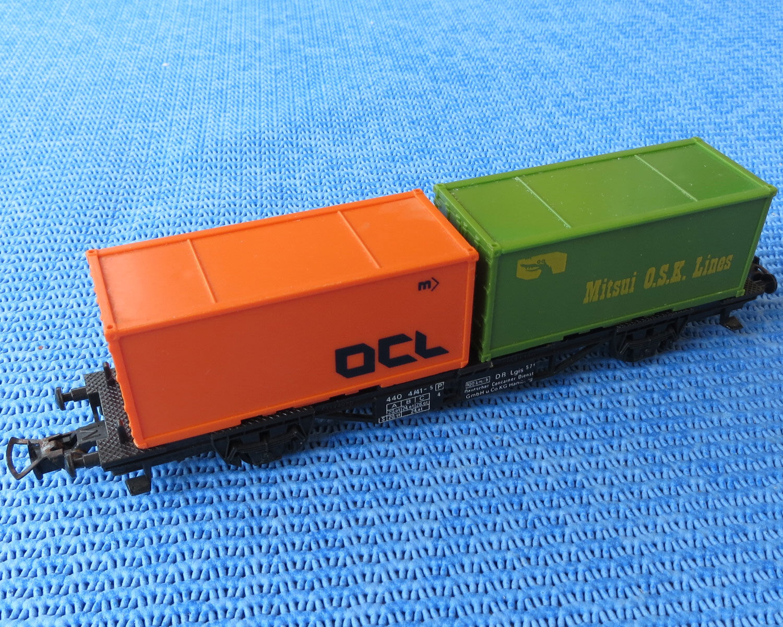 i nuovi marchi outlet online Ftuttier Ams 444 Vagoni Vagoni Vagoni Mit Container  benvenuto per ordinare