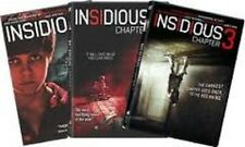 Insidious: Trilogy 1,2 & 3 Collection (DVD +Ultraviolet Digital Copy) - New!!