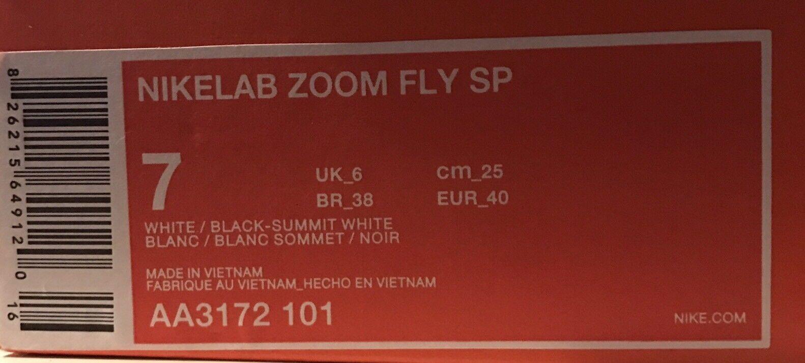 NIKE LAB ZOOM ZOOM ZOOM FLY SP US 7 - UK 6 - EUR 40 05c0b0