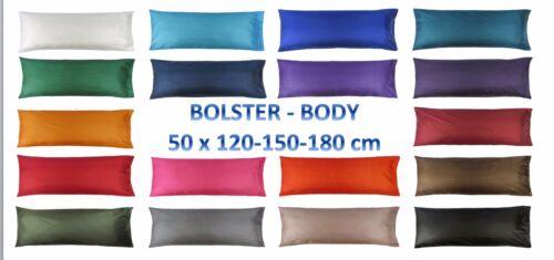 5 4 6 Feet BODY BOLSTER Silk LONG Pillow Case Cover Slip Pregnancy Orthopaedic