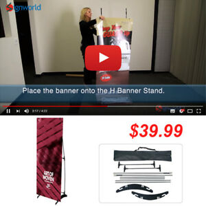 Portable-H-banner-stand-Trade-Show-Booth-Exhibit-Display-24-034-x63-034