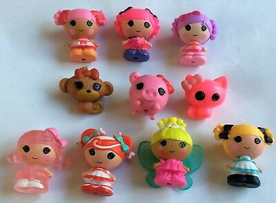 10 X Bambole Lalaloopsy Tinies – – Figure/play Set-mostra Il Titolo Originale